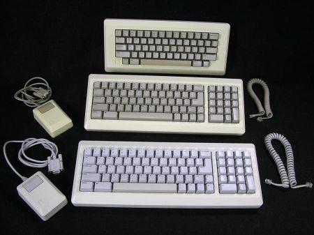 Macintosh 128K, 512K, Plus Keyboard