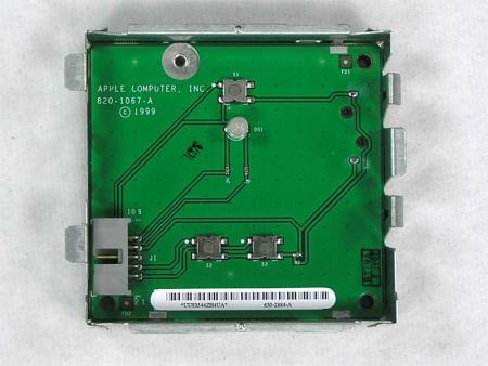 Front Panel Board – Power Button – Switch – Power Mac G4 (AGP)