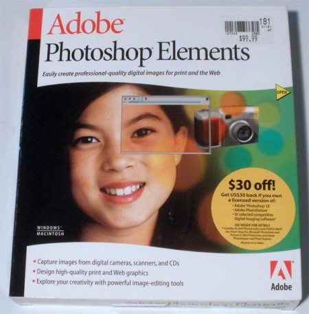 Photoshop Elements ~ Version 1