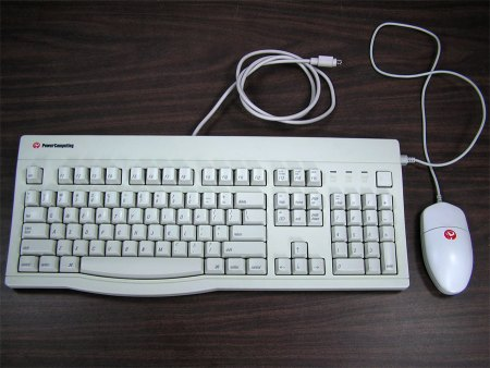 Power Computing ADB Keyboard and Mouse