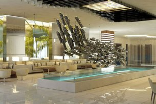 Lobby at Secrets Silversands