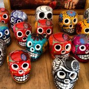 Dia de Los Muertos skulls - Photo Credit: Travel Designed, Stephanie Dieh