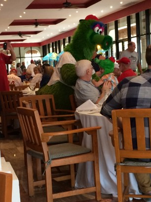 Breakfast with the Phanatic