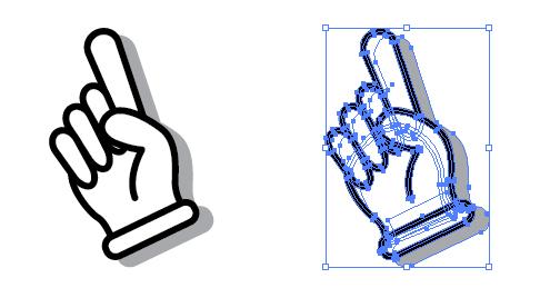 忙しいwebデザイナーさんのためのWeb用素材データ保管・無料ダウンロードサイト【無料配布】イラレ/イラストレーター/ベクトル パスデータ保管庫【ai・eps ベクター素材】デザイナーさんの時間短縮のためのイラレweb素材手・手袋のイラストレーターデータ【アイコン】