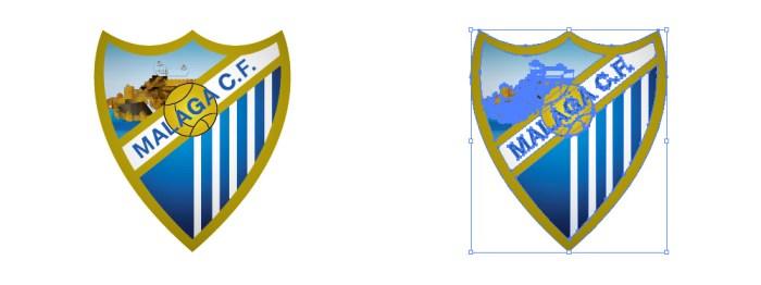 忙しいwebデザイナーさんのためのWeb用素材データ保管・無料ダウンロードサイト【無料配布】イラレ/イラストレーター/ベクトル パスデータ保管庫【ai・eps ベクター素材】デザイナーさんの時間短縮のためのイラレweb素材マラガCF(Málaga CF)のロゴマーク
