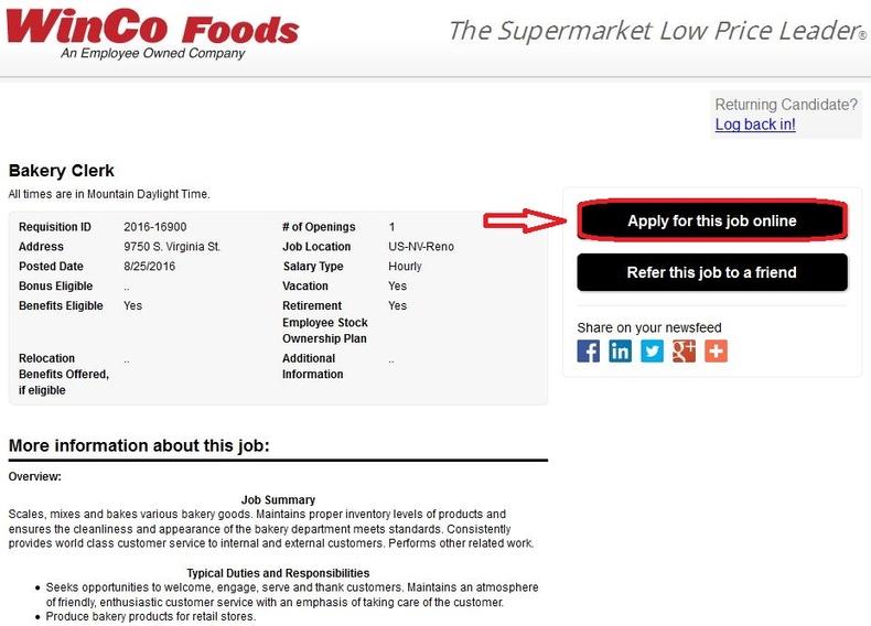 Winco Foods Modesto Ca Careers Foodstutorial