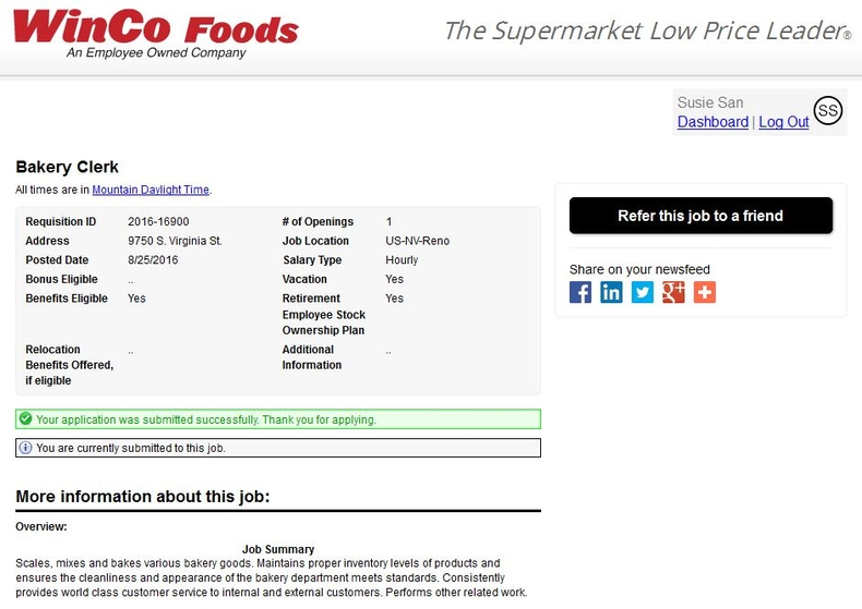 Winco Foods Careers Foodstutorial