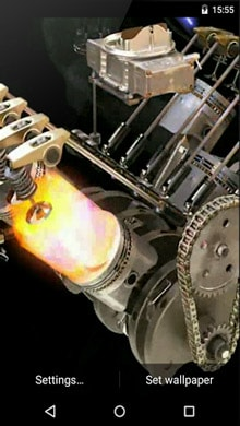 Engine 3D Live Wallpaper APK Download for Android