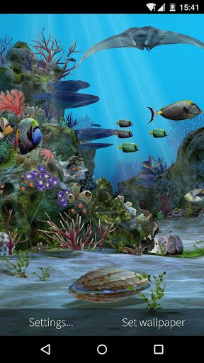 3D Aquarium Live Wallpaper HD APK Download for Android
