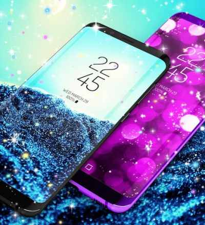Glitter live wallpaper APK Download for Android