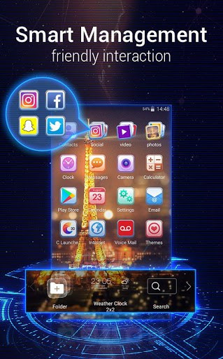 U Launcher 3D app for android | APK Download for Android