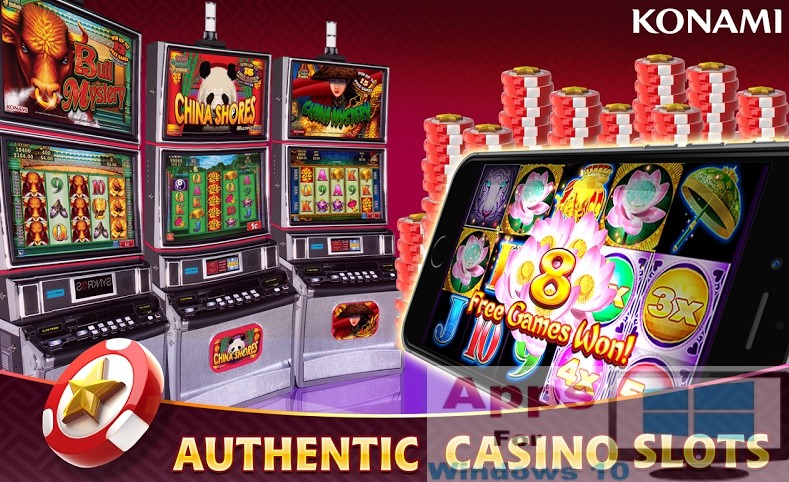 Download Konami Slots Free Casino For Pc Apps For Windows 10