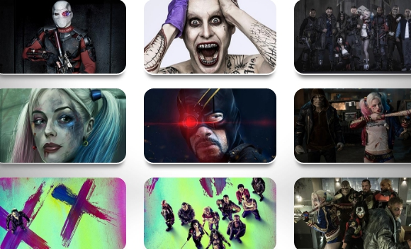 Download Suicide Squad HD Theme for PC (Windows 10, 7, 8, 8.1)