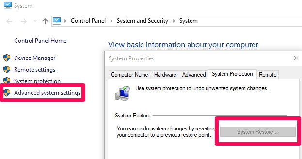 How to Fix System Restore Not Working or Disabled on Windows