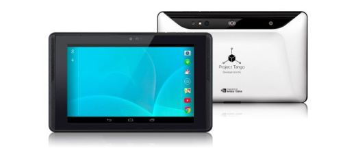 The new 7 inch Project Tango tablet with 3D mapping technology
