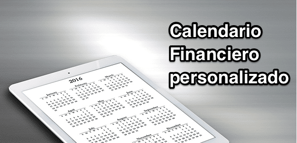 Calendario Financiero personalizado