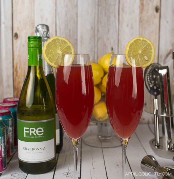 pomegranate spritzer mocktail-3