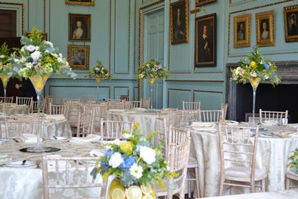 Pastel Table Arrangements