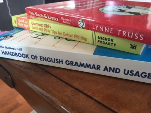 Grammar Books -- April J. Moore