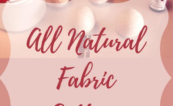 All Natural Fabric Softener   AprilNoelle.com