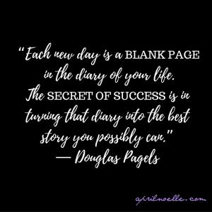 Each New Day... ~ Douglas Pagels   AprilNoelle.com