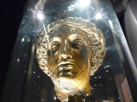 Minerva from inside the temple