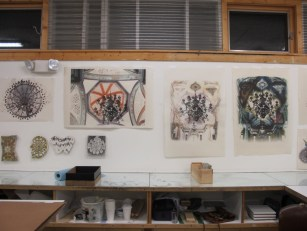 prints posted in my studio