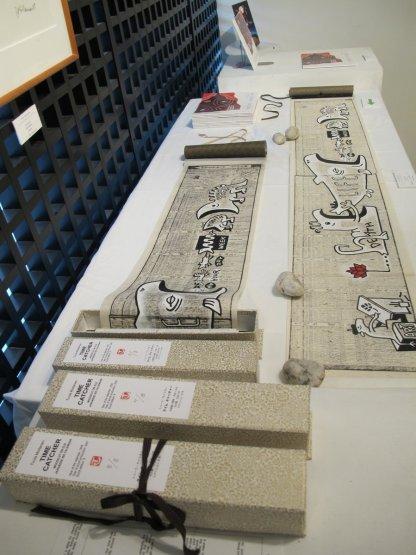 Tuula Moilanen's scroll prints