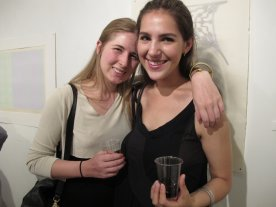 Catherine's daughter Jody and friend