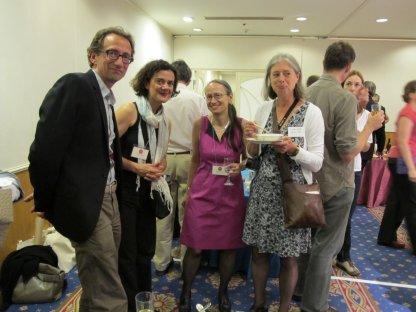 Hans, Tanya, April and Nel (Netherlands, US US, Netherlands)