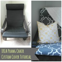 DIY IKEA Poang Chair Cover
