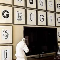 BIG Gallery Wall {Typography Art}