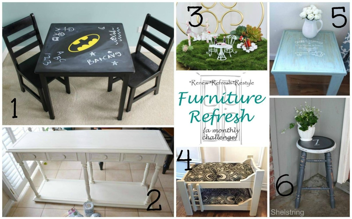March Furniture Refresh Challenge apurdylittlehousecom