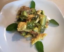 Pollo zucchine e funghi di Simone