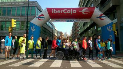 CARRERA POPULAR IBERCAJA POR LA INTEGRACIÓN