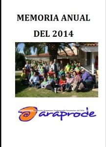 Memoria anual de actividades 2014