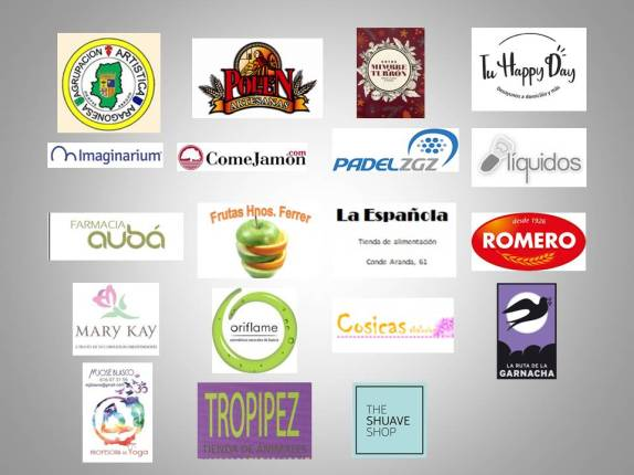 cartel logos patrocinadores