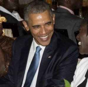 Obama oo dhinacyada ka fadhiyaan