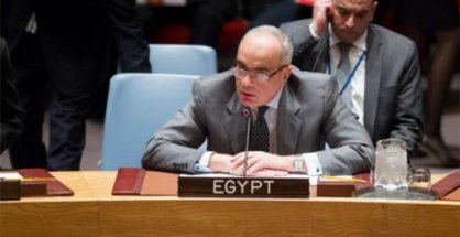 Chairman of the Counter-Terrorism Committee, H.E. Amr Abdellatif Aboulatta, Ambassador and Permanent Representative of Egypt to the United Nations.