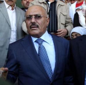 former President Yemen Ali Abdullah Saleh
