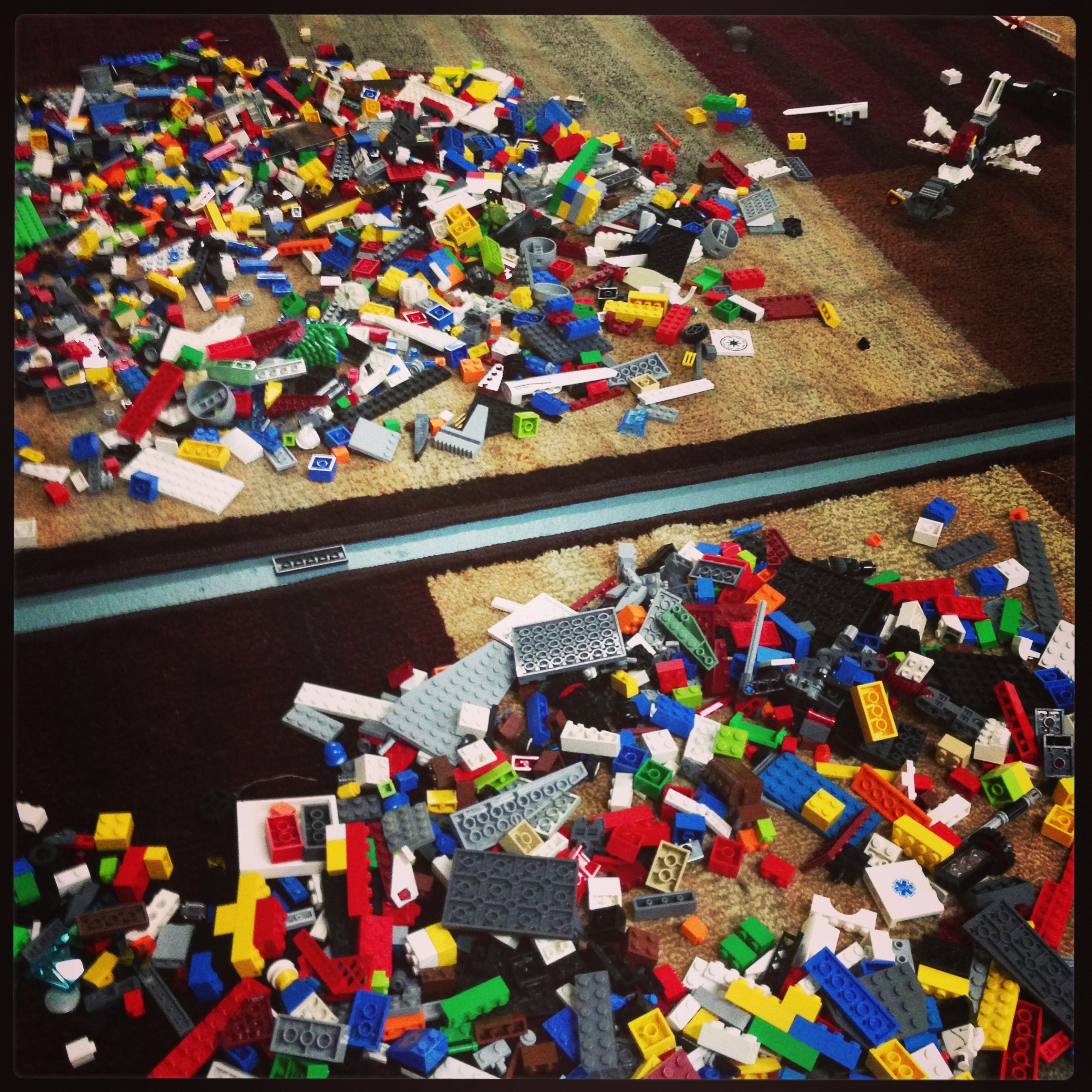 When in doubt, Lego.