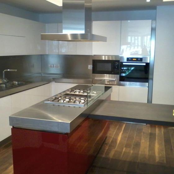 Arca Cucine Italia  – Cucine Domestiche Acciaio Inox – Scatti Clienti – 2013-06-05 09.10.45