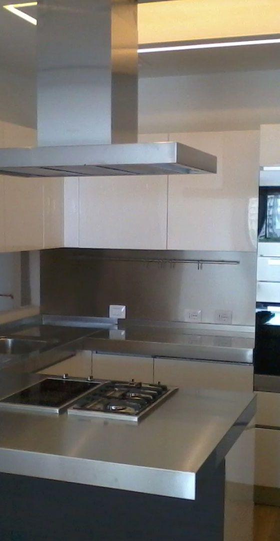 Arca Cucine Italia  – Cucine Domestiche Acciaio Inox – Scatti Clienti – 2013-06-05 12.58.51
