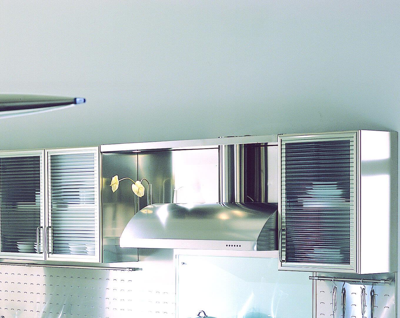 wagon - arca cucine italia - cucine in acciaio inox - Pensili Inox Per Cucina