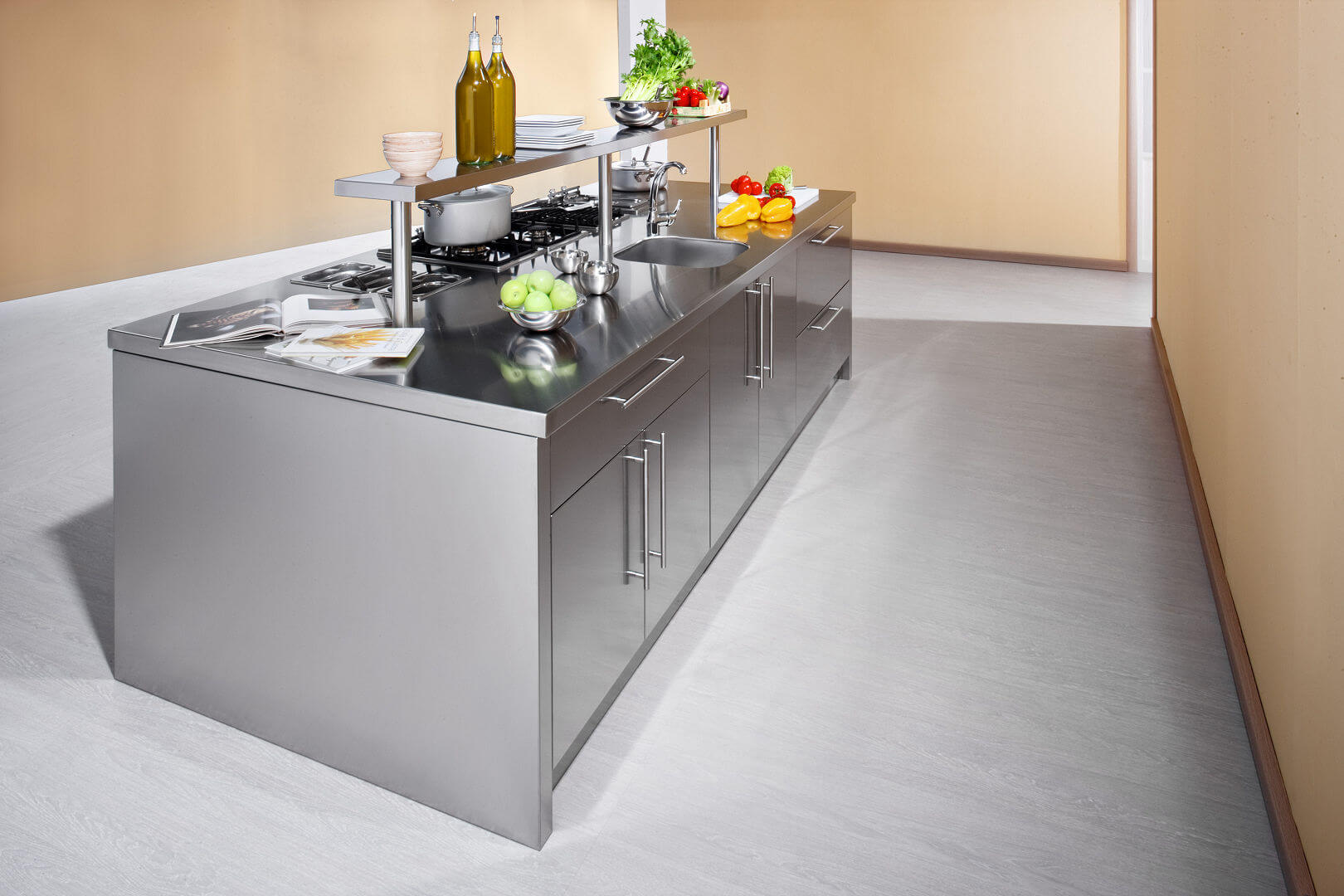 Beautiful Cucine Acciaio Inox Images - Skilifts.us - skilifts.us