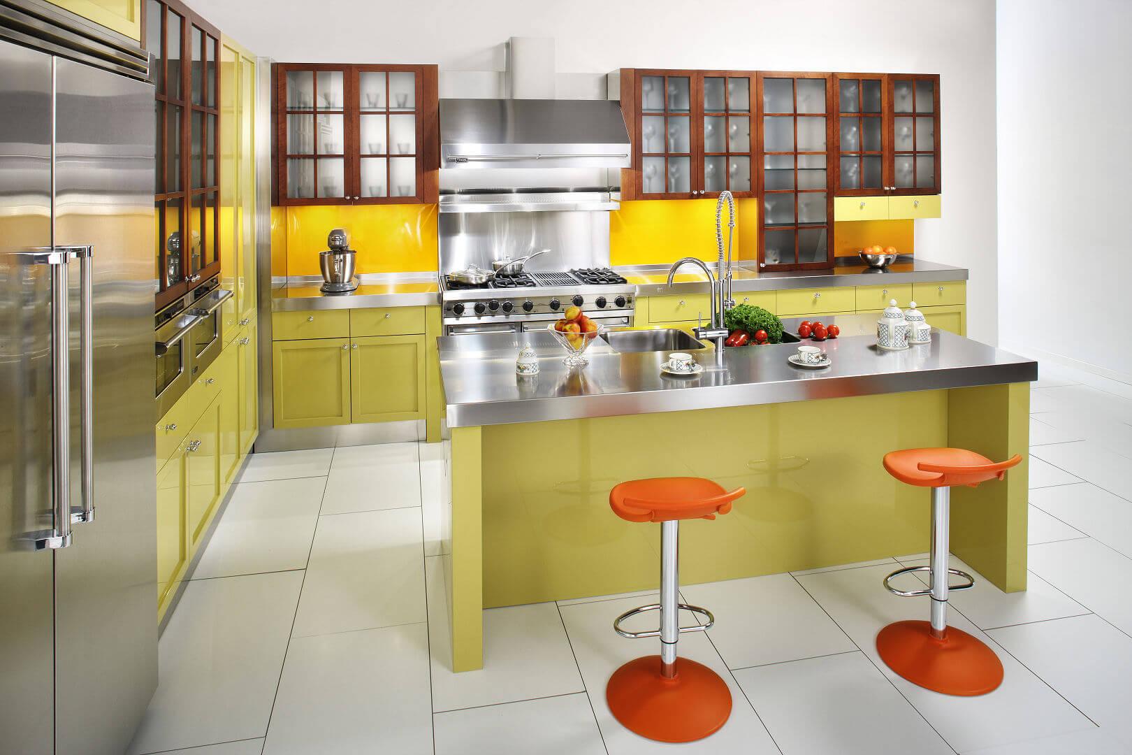 Cambridge arca cucine italia cucine in acciaio inox - Cucine in acciaio inox ...