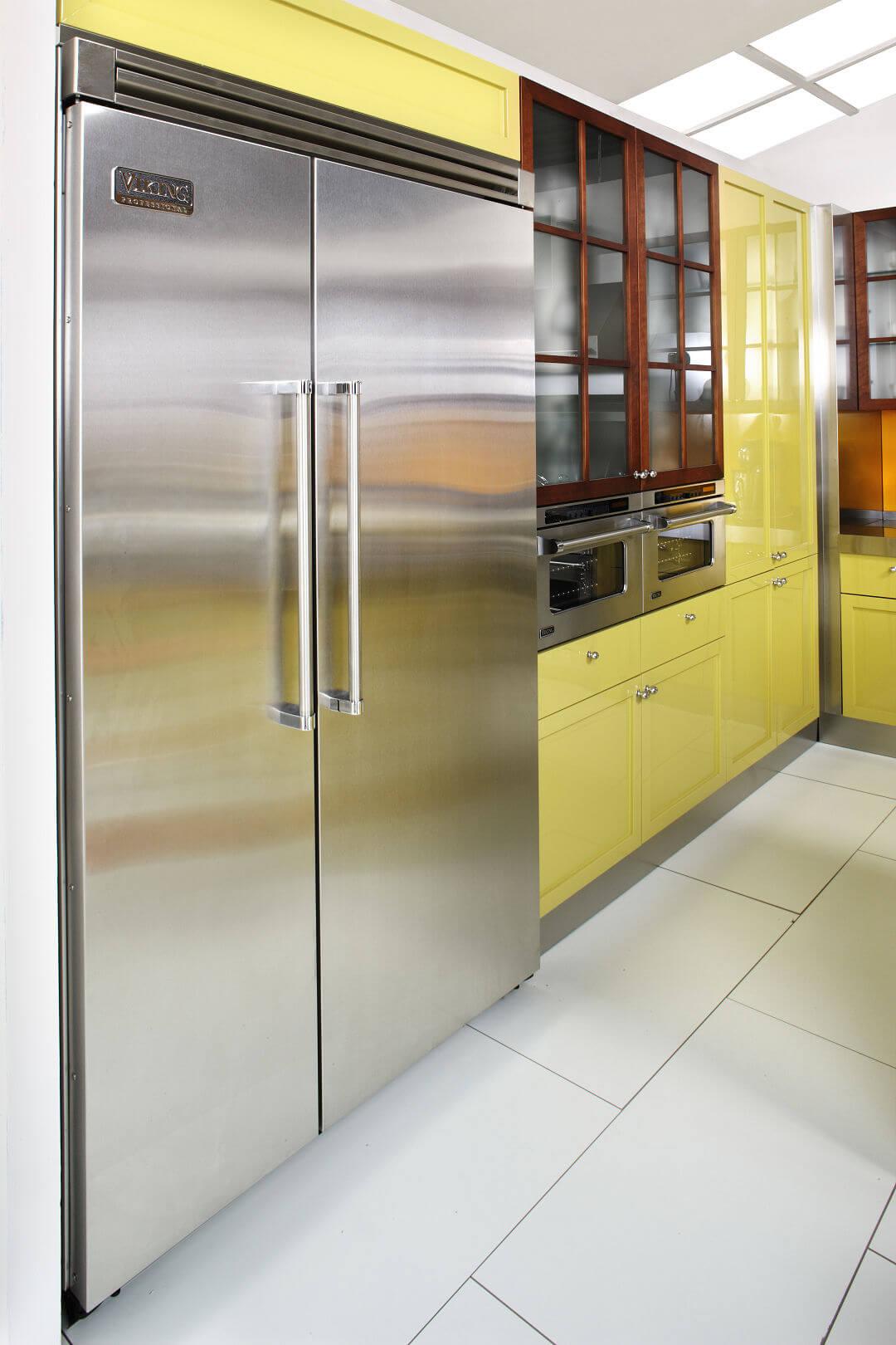Arca Cucine Italia - Cucine Domestiche in Acciaio Inox - 14 - Cambridge - Frigorifero