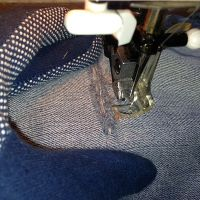 Bad Seamstress Blues - Patchless darning is the same as free motion
