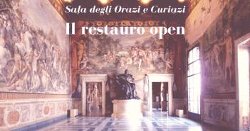 Il restauro open della Sala degli Orazi e Curiazi