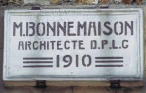 L 39 affichage obligatoire du nom de l 39 architecte sur une fa ade for Nom d architecte
